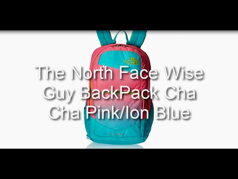 The North Face Wise Guy BackPack Cha Cha Pink Ion Blue - YouTube 50a848bff1b3a
