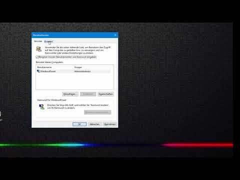 Windows 10 Anmeldeinformationsverwaltung