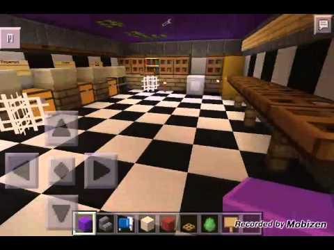 Minecraft pe fnaf map by Awesomelegodude