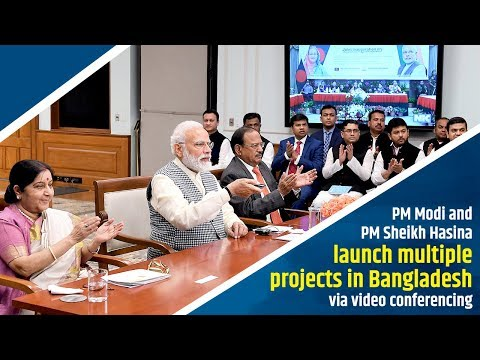 PM Modi and PM Sheikh Hasina launch multiple projects in Bangladesh via video conferencing