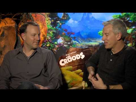 The Croods Featurette -- Chris Sanders and Kirk DeMicco Interview - IN CINEMAS NOW