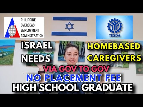HOW TO APPLY CAREGIVER IN ISRAEL 2021 STEP BY STEP with NO PLACEMENT FEE | NO AGE LIMIT