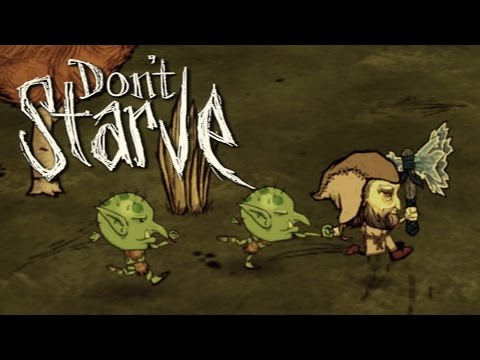 Don't Starve RPG: Hero In The Dark (Part 2 - Grappling With Goblins)