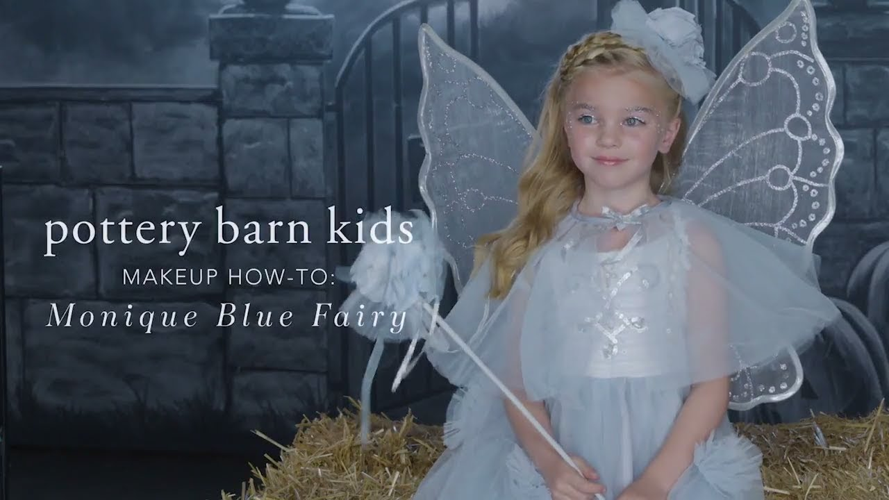 Easy halloween makeup tutorial blue fairy costume for pottery easy halloween makeup tutorial blue fairy costume for pottery barn kids baditri Image collections