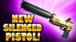 NEW SILENCED PISTOL IS AMAZING! (Fortnite Battle Royale)