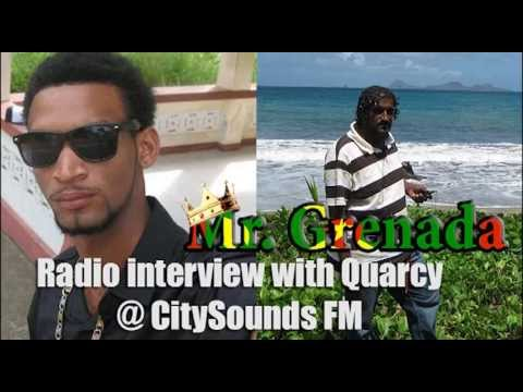 Mr. Grenada Radio Interview with Quarcy from Citysounds FM 6/8/2013