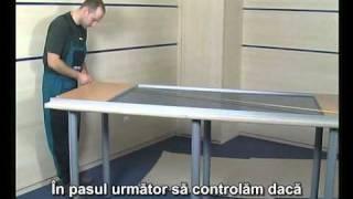 Sisteme de uşi glisante COSMO, SMART. Instrucţiunile de instalare