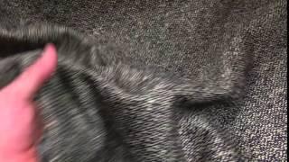 Black Tweed Heavy  | 54 Inch | Upholstery / Drapery Fabric
