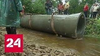 Уровень воды в реках московского региона продолжает подниматься