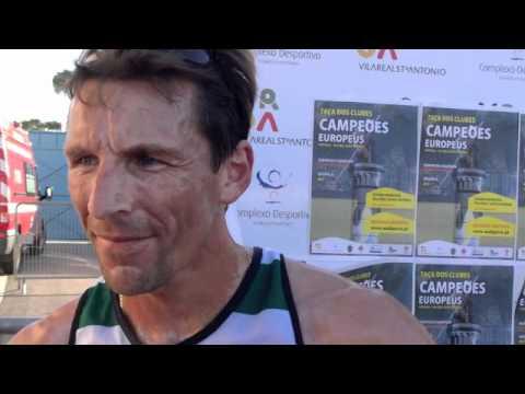 Atletismo :: Rui Silva, vencedor dos 3000m e 5000m na Taça dos Campeões em Pista, disputado em 2011