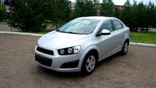 2012 Chevrolet Aveo. Start Up, Engine, And In Depth Tour.