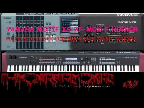 Yamaha motif horror sound set demo youtube for Yamaha motif sounds download free