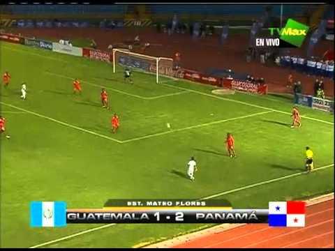 Guatemala vs Panamá Sub-20 Amistoso