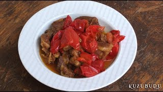 Kavatalı Domatesli Yahni / Lamb Stew With Bitter Tomato - Osmanlı Yemekleri/turk
