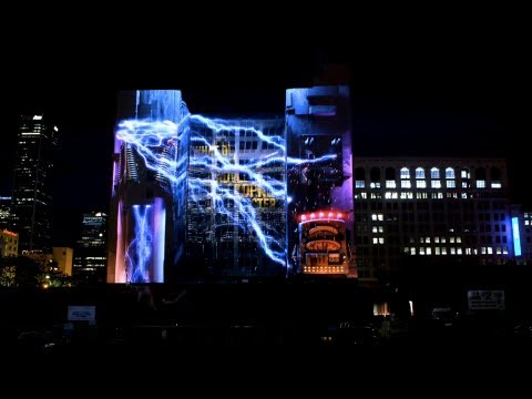 3d Projection Mapping Los Angeles Disappearing