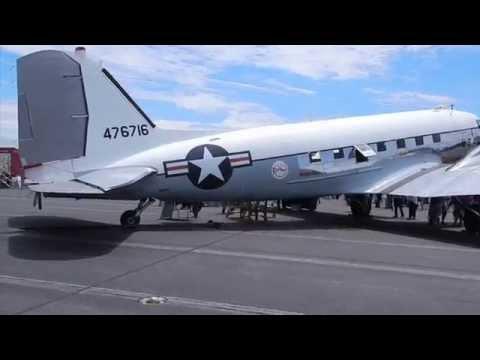 Touring a DC-3 with Robert Matzen, author of