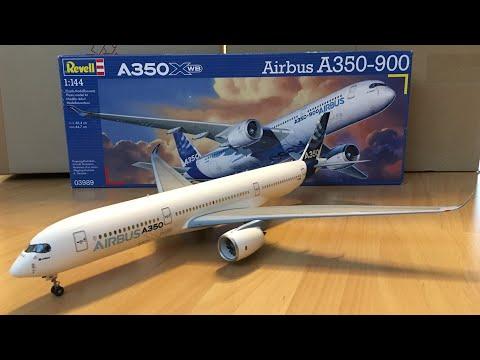 Assembly / Revell 1/144 Scale Airbus A350-900 XWB / Zocker J