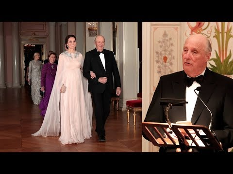 King Harald quotes «Love, actually» on speech to the Duke and Duchess of Cambridge