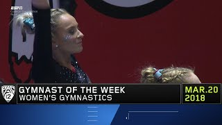 Utah's MyKayla Skinner takes home another Pac-12 Women's Gymnast of the Week award