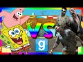 SPONGEBOB VS ZOMBIES | Gmod Sandbox (Funny Moments)