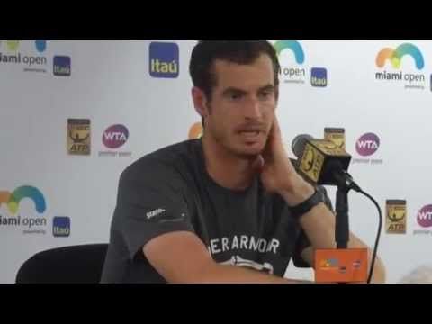 Andy Murray 2015 Miami Open Championship...