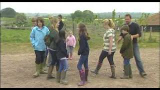 TV Presenter, Jimmy Doherty Teaches Kids about the Countryside and how their Food is Made