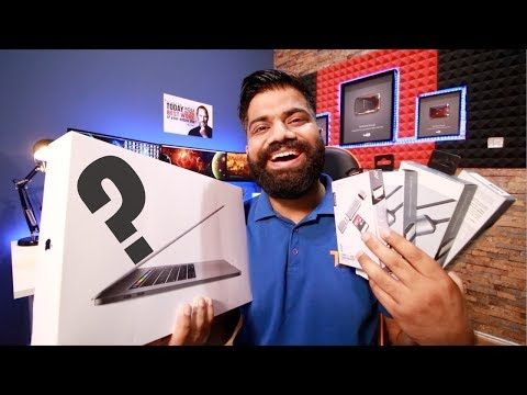 MacBook Pro 15' w/Touch Bar (2017) Unboxing and First Look with Best Accessories