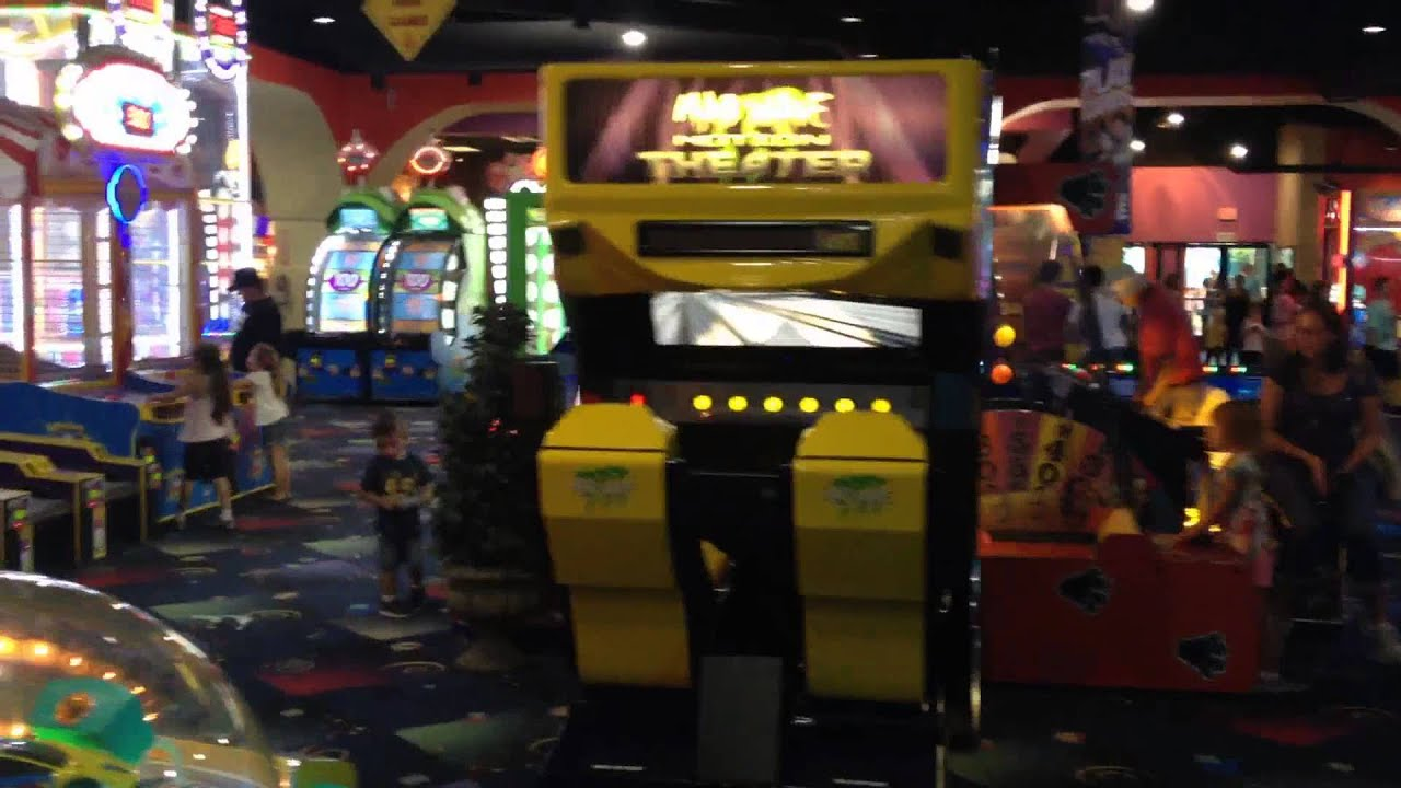 Video Game Arcade Tours Boomers Family Fun Center In Irvine California Youtube