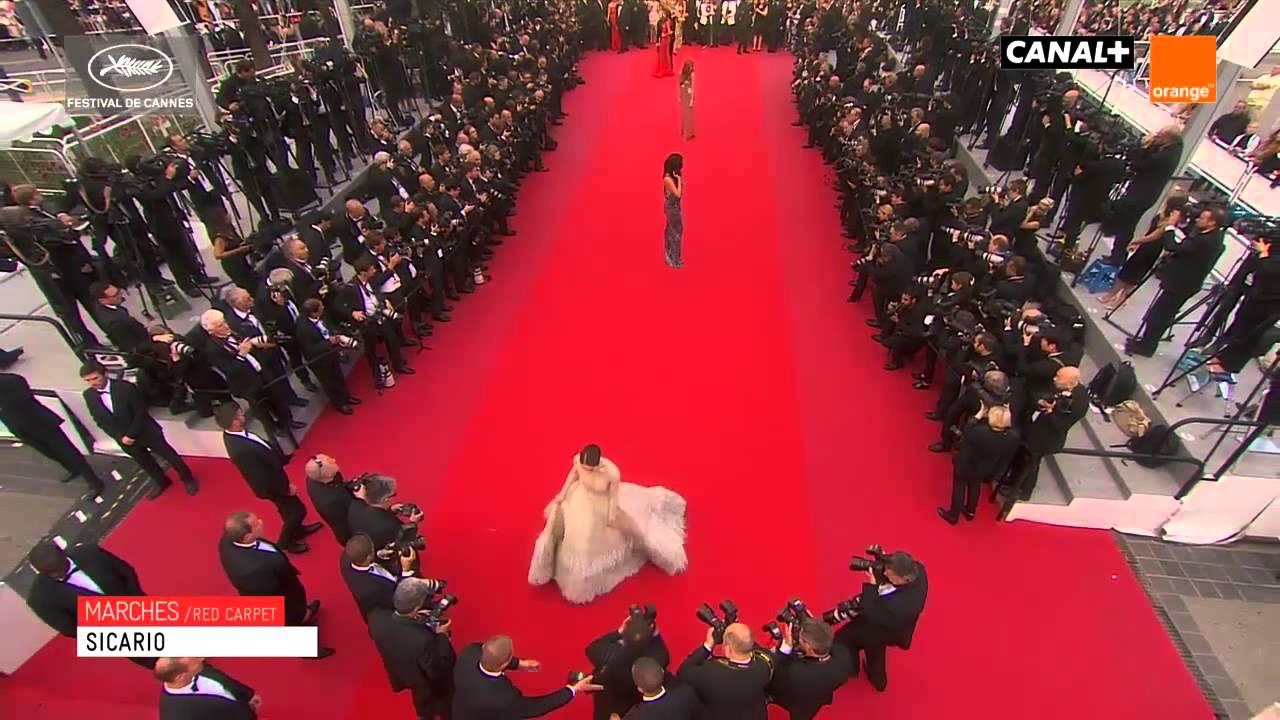 ชมพู่ อารยา Araya in Red Carpet Cannes Film 2015