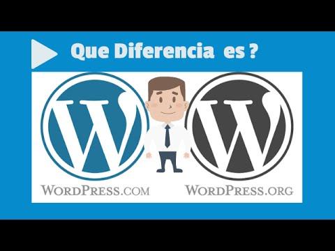 Que es WordPress Diferencia Entre WordPress.com y WordPress.