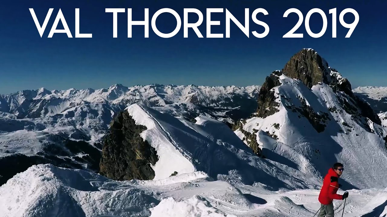 Val Thorens, France 2019 | GoPro Hero 5 | Skiing | 4K HD | Fall & Fun