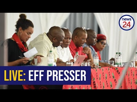 WATCH LIVE: EFF expected to address VBS claims