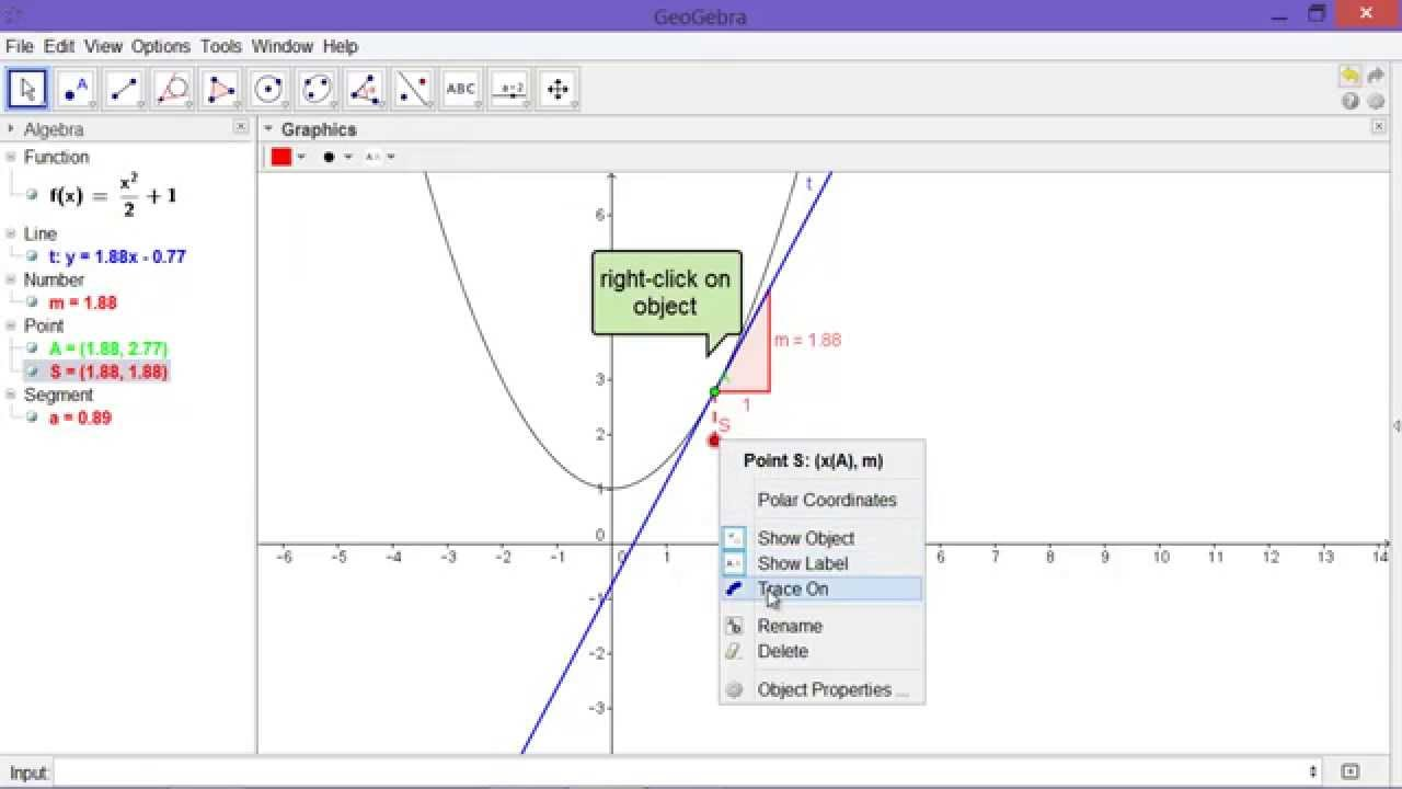 Introducing Derivatives - The Slope Function