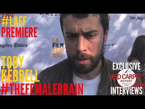 Toby Kebbell ed at LAFF Premiere of The Female Brain