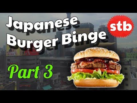 Burger King Christmas Burgers in Japan // Japanese Burger Binge Part 3
