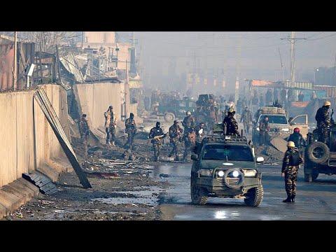 Explosões abalam a capital afegã