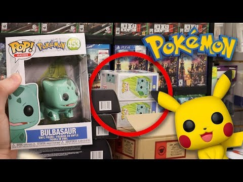 Pokemon Funko Pop Hunting