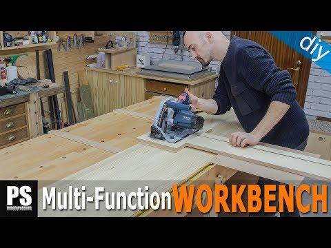Rip Cut Guide / Workbench Build Part 2
