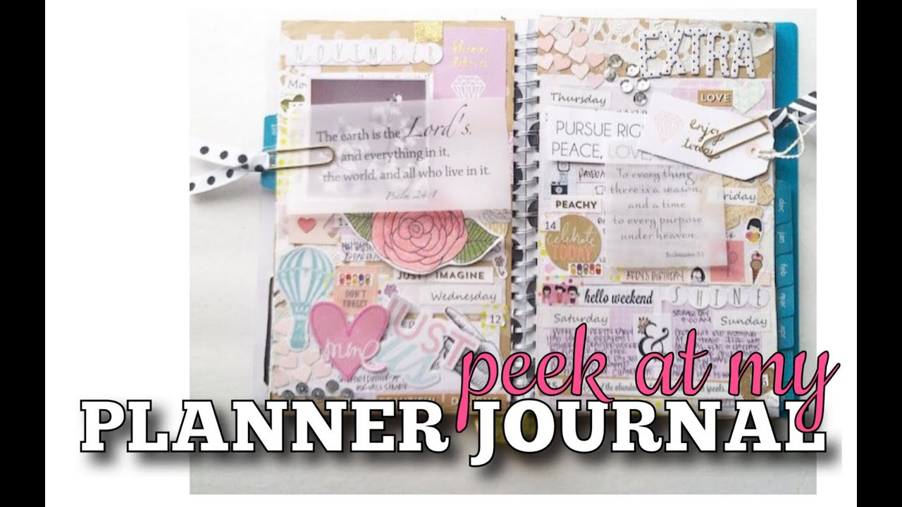 K Into My Planner Journal