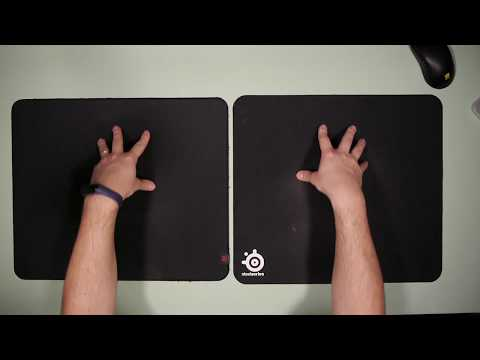 Zowie G-SR VS Steelseries QCK+ 1 Year Later - DETAILED REVIEW COMPARISON - BEST MOUSE PAD FOR CS:GO