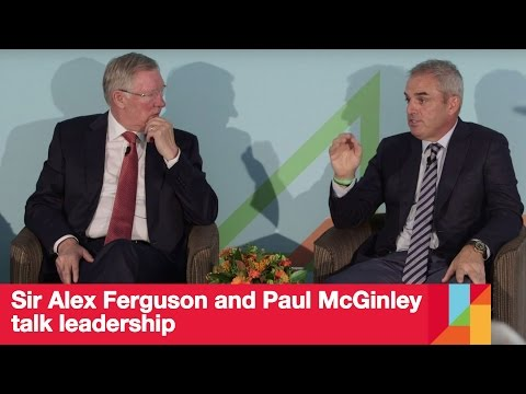 Sir Alex Ferguson and Paul McGinley talk leadership | London Business School