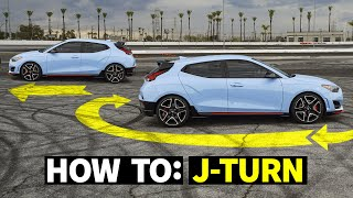 homepage tile video photo for How to do J-Turns in a Front Wheel Drive Car! FWD Hoon School, pt.1