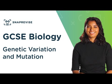 Genetic Variation and Mutation | 9-1 GCSE Biology | OCR, AQA, Edexcel