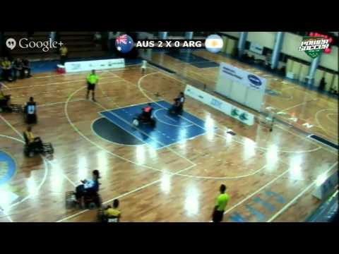 Argentina x Austrália - Mundialito de Power Soccer