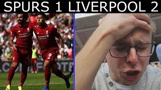 SPURS 1 LIVERPOOL 2!! - ABSOLUTE NIGHTMARE!! - LIVE MATCHDAY VLOG