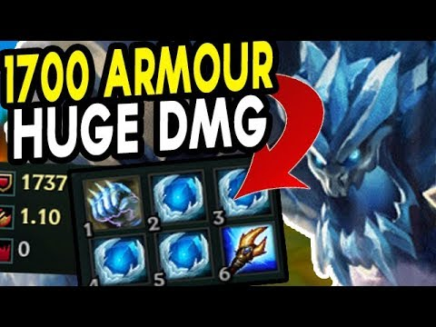 1700 ARMOUR + HUGE BURST MAGE MALPHITE! HIGHEST DAMAGE TANK EVER?? - Season 8 New Runes