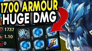 1700 ARMOUR + HUGE BURST MAGE MALPHITE! HIGHEST DAMAGE TANK EVER?? - Season 8 New Runes