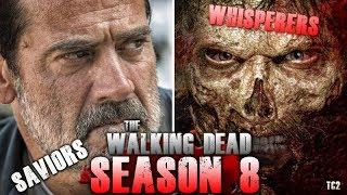 The Walking Dead Season 8 - The Saviors vs the Whisperers - Better Villains?