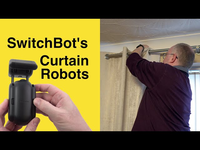 Automating curtains with SwitchBot