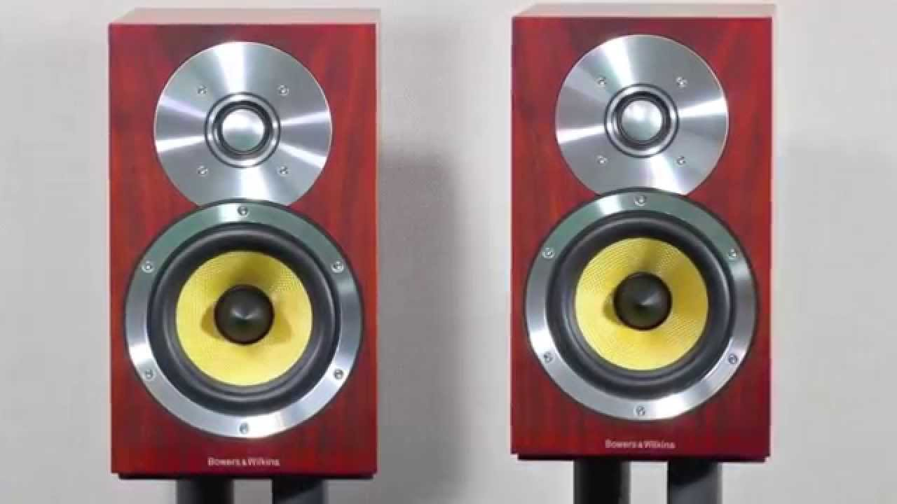 Stereo Design BW Bowers Wilkins CM1 Bookshelf Speakers In HD